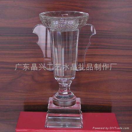 水晶獎杯 4