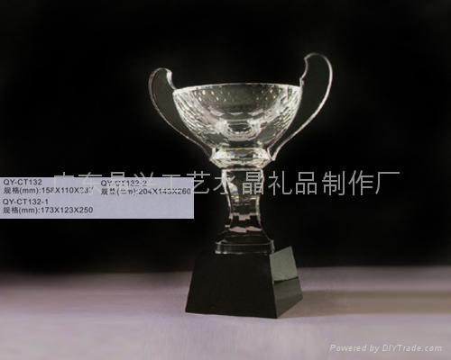 水晶獎杯 5
