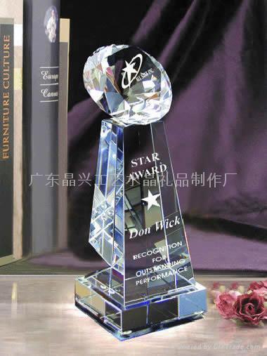 廣州水晶獎杯 1