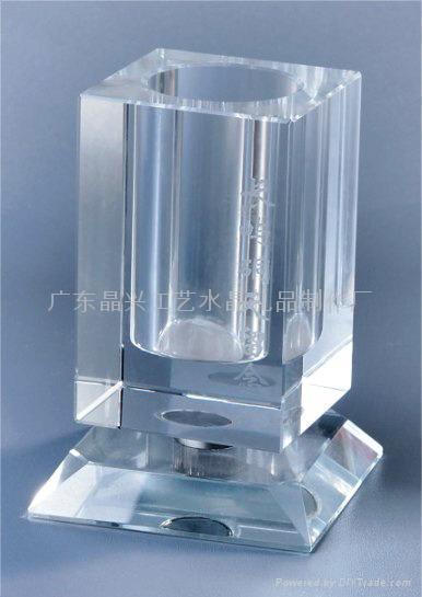 廣州水晶筆筒 2