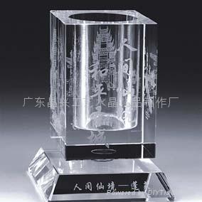 廣州水晶筆筒 5