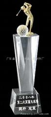 广州水晶奖杯
