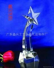 广东水晶奖杯