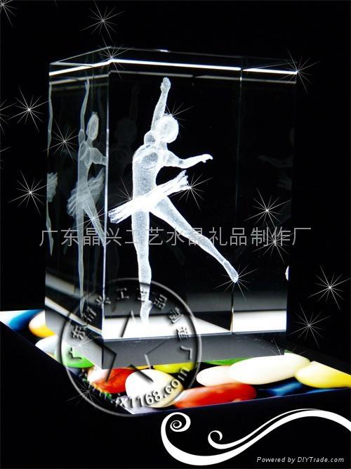 3D立體內雕水晶 2