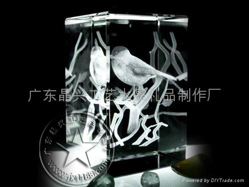 3D立體內雕水晶 4