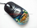 Real crab sealife Optical Computer Mouse For priemium gift business gift
