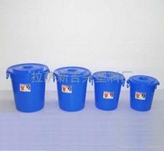 塑料圓形水桶