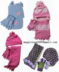 Knitted Hats Scarves Socks