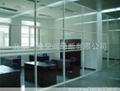 不锈钢玻璃隔断 2