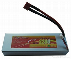rc battery 11.1V 3200mAh 20C