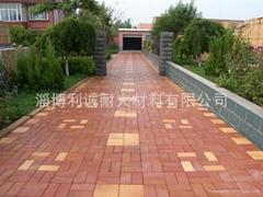 紅色燒結地面磚