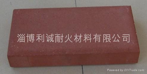 紅色燒結地面磚 3