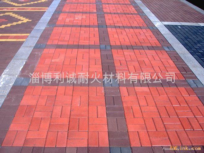 紅色燒結地面磚 4
