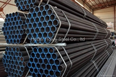 Fluid carbon steel pipe