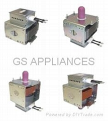 Water-cooled magnetron tube 1500W