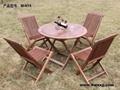 美式实木桌椅