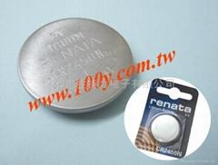 RENATA_3V锂电池-CR2450