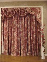jacquard curtain fabric 10015-12A