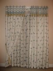 jacquard curtain fabric 10020-21/10020-22