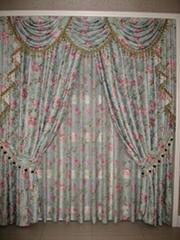 jacquard curtain fabric 10010-21/10010-22