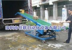 移动升降装卸货输送机