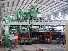 Asbestos free corrugated sheet production line