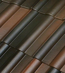 Fiber cement roof tile