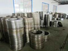 steel pipe fitting flange