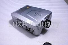 HDTV Projector with AV SV VGA TV DVB-T HDMI SCART USB Card Reader Inpit