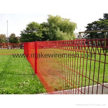 Rolltop Fence Pool Fence /BRC Mesh Fence /Galvanized Fencing Mesh