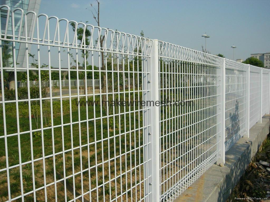 Rolltop fence pool brc mesh galvanized