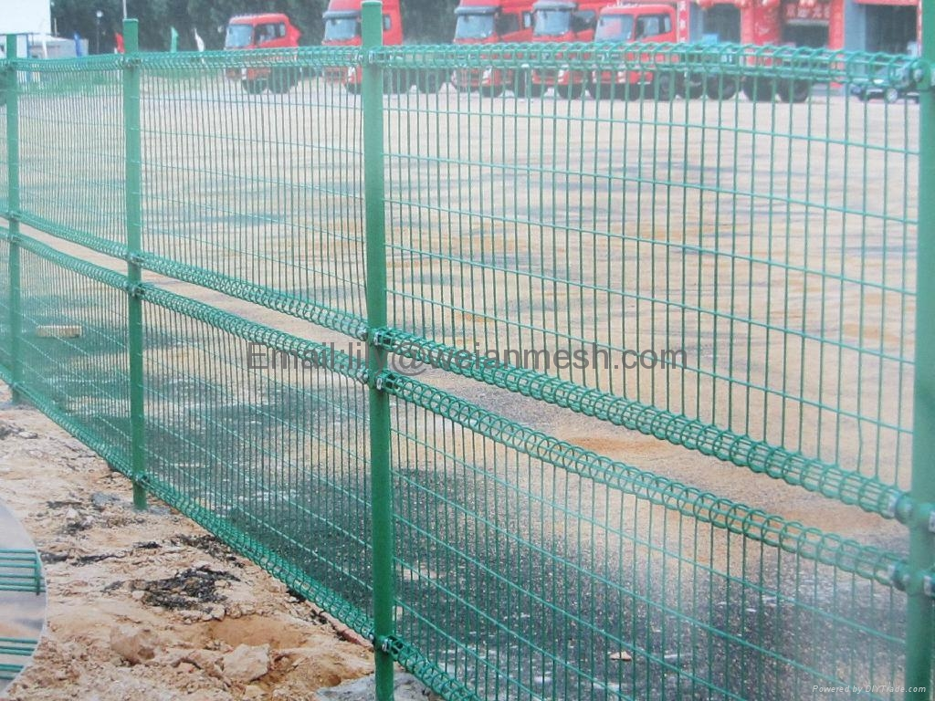 Double Loop Decorative Fence/Double Loop Wire Fence (WEIAN) - WA-102 ...