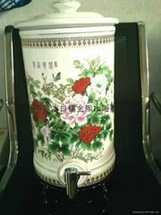 Oak barrel drinking water tap, tap ceramic cylinder, mug faucet