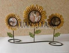 Sunflower photo frame