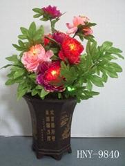 動感花卉盆景