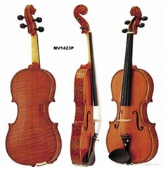 High Grade With Flower Violin