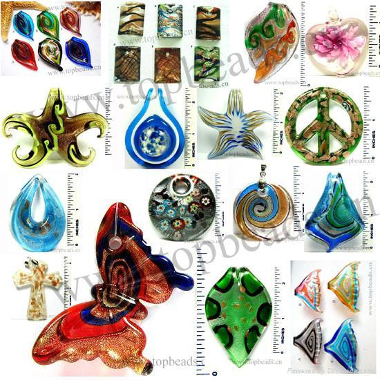 Murano Pendants on Murano Glass Pendants   Hlg002   Topbeads Jewlery  China Manufacturer