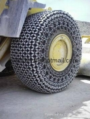 CAT990 tyre protection chains45/65R39