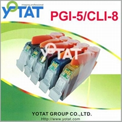 ink cartridge for Canon PGI-5 CLI-8 Series (With chip)
