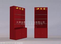 天津木製展櫃