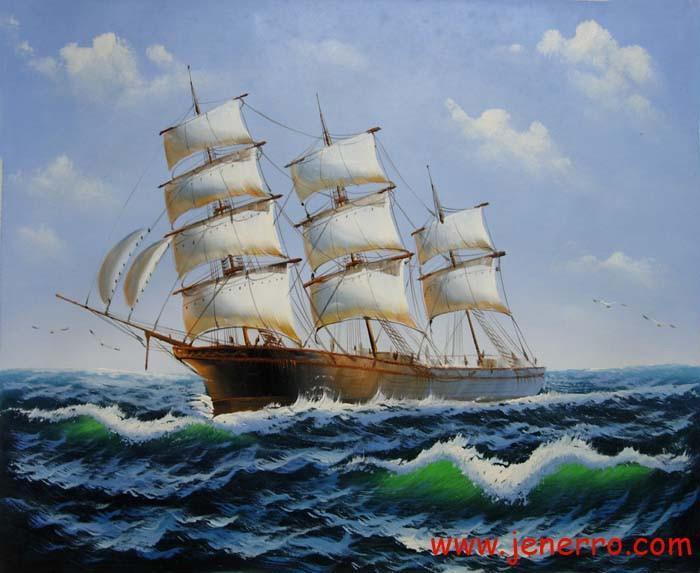 Seascape Oil Paintings On Canvas