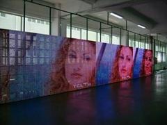 LJJ-LDS-Full color curtain LED Display
