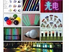 LED lighting display series