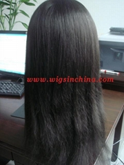 100% Indian remy hair full lace wigs