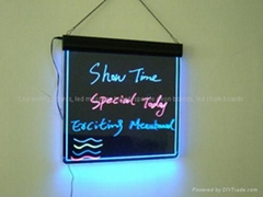 7 Color acrylic led writing board