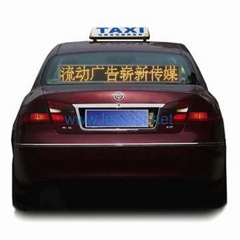 LED Taxi Message Sign