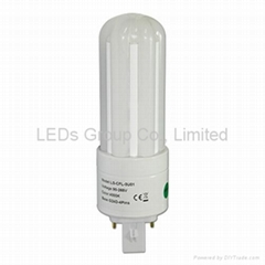 Dimmable 8W LED G24 CFL Bulb Light