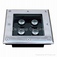 LED 4W Square Underground Light