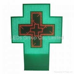 P16 Big LED Pharmacy Cross Display (RF Wireless/RS232)