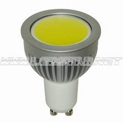 LED GU10 Spotlight (3W COB LEDs)